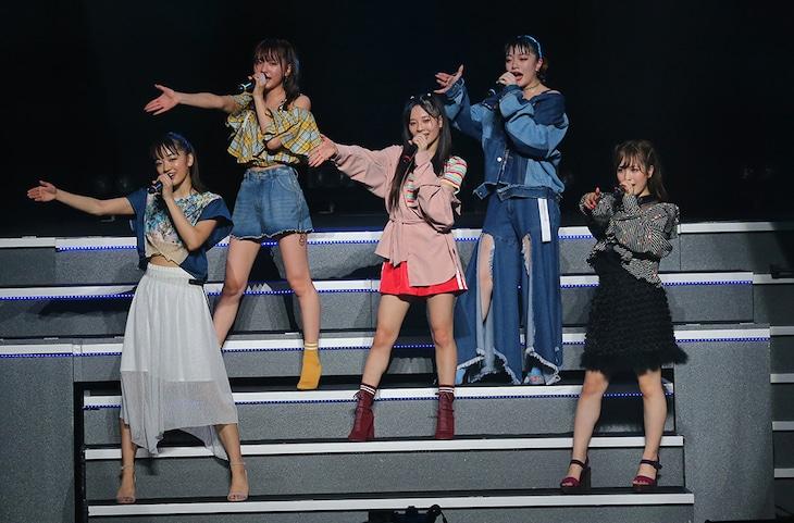フェアリーズ「フェアリーズ LIVE TOUR 2018 ~JUKEBOX~」東京・TOKYO DOME CITY HALL公演の様子。