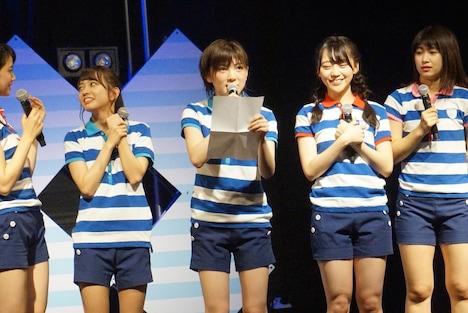 「STU48瀬戸内7県ツアー ~陸上公演2018~」山口・周南RISING HALL公演の様子。(c)STU48