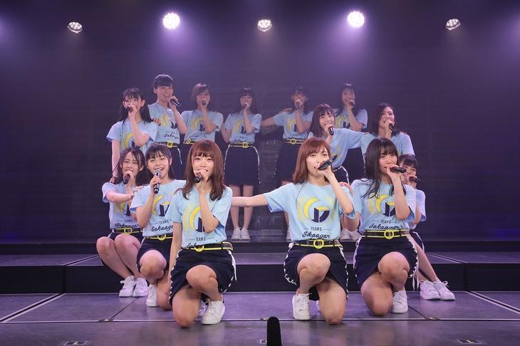 NGT48チームG (c)AKS