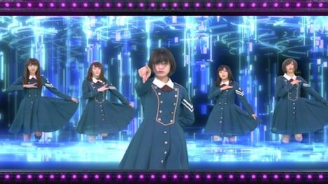 「欅坂46ホログラムライヴ」イメージ画像