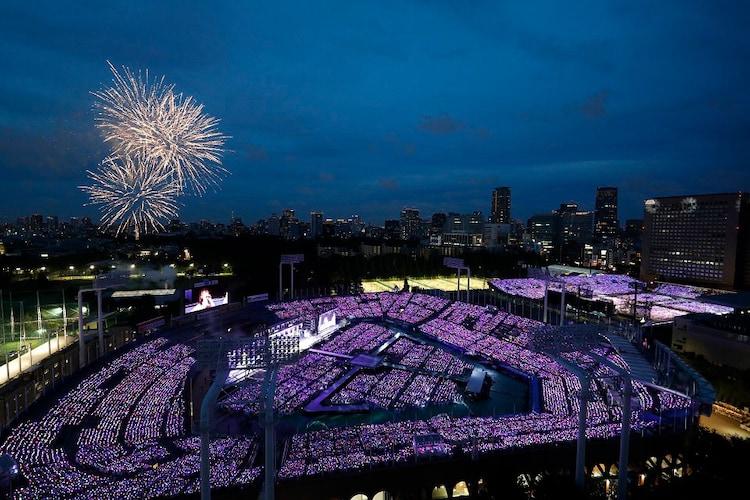 「乃木坂46 6th YEAR BIRTHDAY LIVE」の様子。