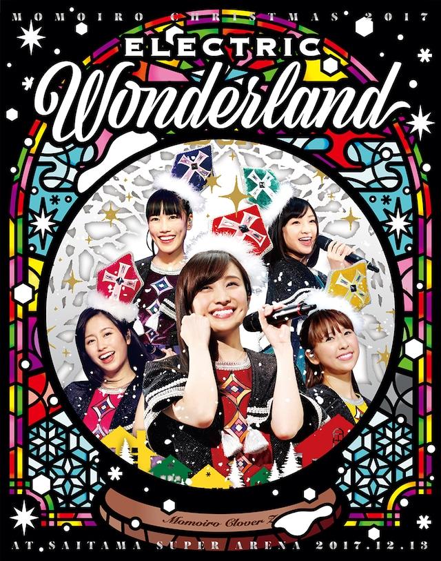 ももいろクローバーZ「ももいろクリスマス 2017 ~完全無欠のElectric Wonderland~」初回限定盤Blu-rayジャケット