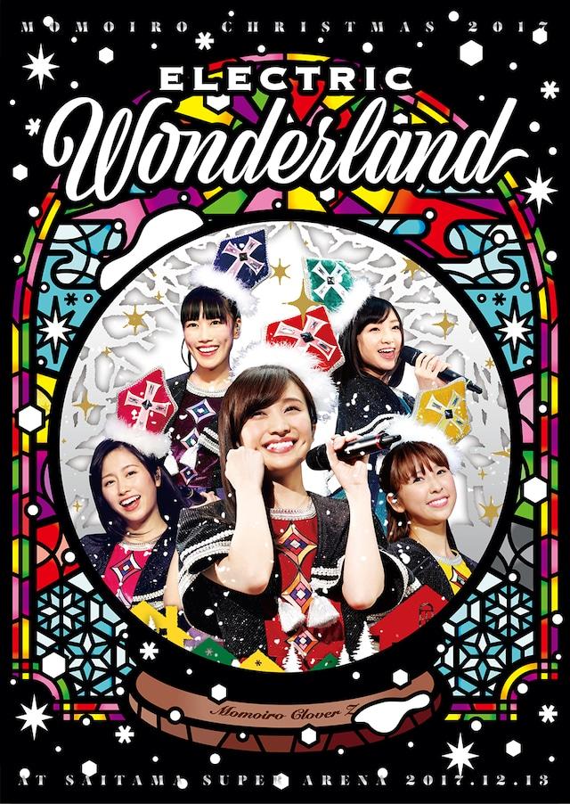 ももいろクローバーZ「ももいろクリスマス 2017 ~完全無欠のElectric Wonderland~」初回限定盤DVDジャケット