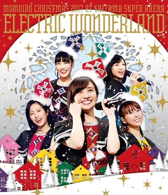 ももいろクローバーZ「ももいろクリスマス 2017 ~完全無欠のElectric Wonderland~」通常盤Blu-rayジャケット