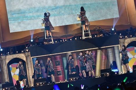 けやき坂46「『走り出す瞬間』ツアー2018」千葉・幕張イベントホール公演の様子。