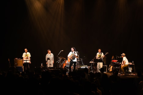 ORIGINAL LOVE「Wake Up Challenge Tour」東京・昭和女子大学人見記念講堂公演の様子。(撮影:工藤ちひろ)