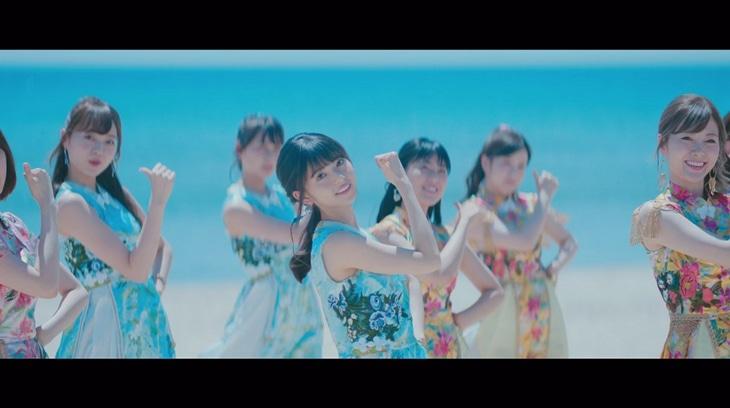 乃木坂46「ジコチューで行こう!」ミュージックビデオのワンシーン。