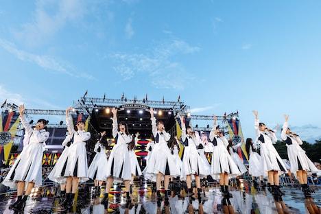けやき坂46(撮影:上山陽介)