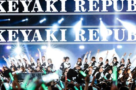 欅坂46「欅共和国2018」の様子。(撮影:上山陽介)