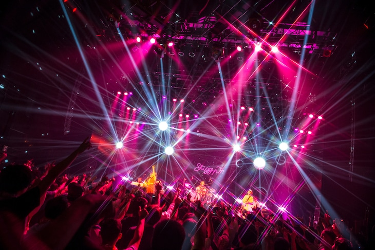 Shiggy Jr.「Shiggy Jr. LIVE TOUR 2018 - Step by Step - summer ver.」東京・マイナビBLITZ赤坂公演の様子。(撮影:田中聖太郎)