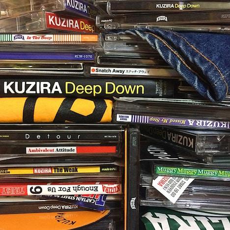 KUZIRA「Deep Down」ジャケット