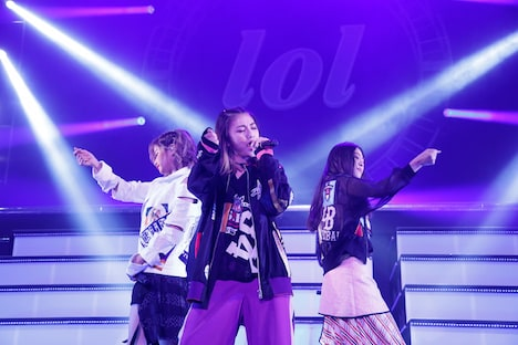 lol「live tour 2018 -scream-」東京・Zepp DiverCity TOKYO公演の様子。