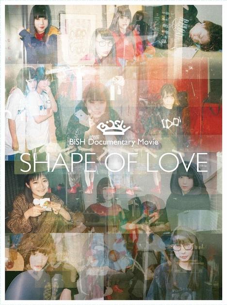 """「BiSH Documentary Movie """"SHAPE OF LOVE""""」初回限定盤ジャケット"""