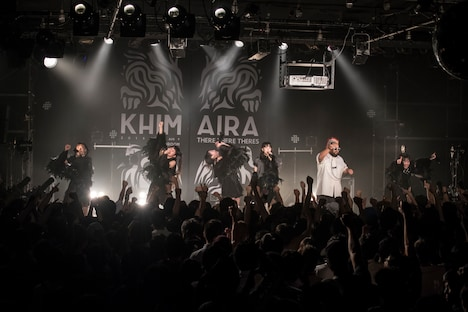 THERE THERE THERES「KHIMAIRA」の様子。(写真提供:AqbiRec)