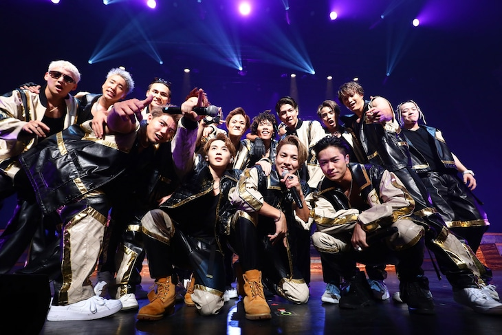 THE RAMPAGE from EXILE TRIBE(撮影:渡邉一生)