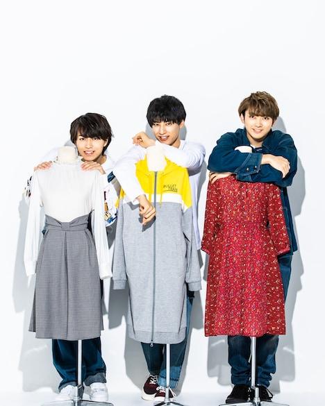 左からタカシ、ユースケ、ユーキ。