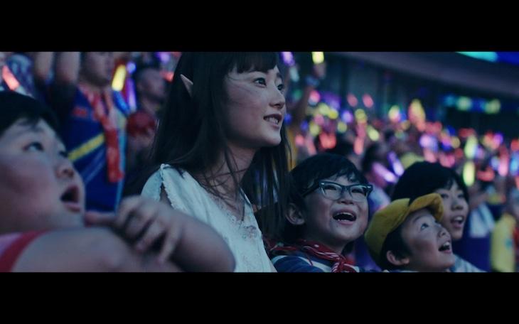 ももいろクローバーZ「Re:Story」Music Video LIVE ver.より。
