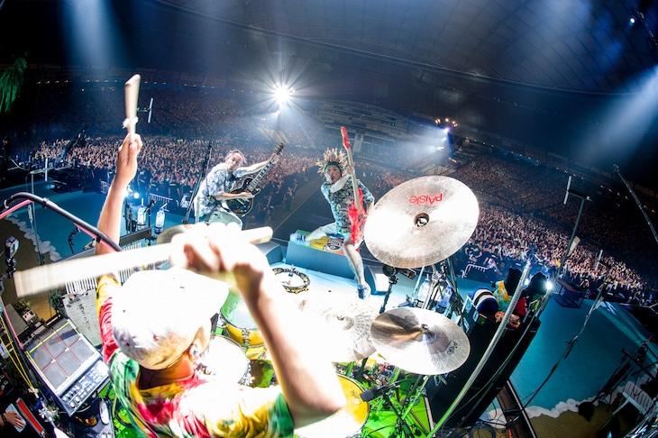 WANIMA「WANIMA Everybody!! Tour Final!!」の様子。