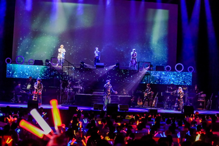 「Stars on Planet -星の王子さまにさよならを-」夜公演の様子。(Photo by Viola Kam[V'z Twinkle])