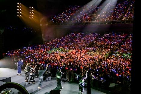 「Stars on Planet -星の王子さまにさよならを-」夜公演のアンコールの様子。(Photo by Viola Kam[V'z Twinkle])