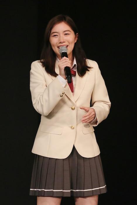 ファンの前に姿を見せた松井珠理奈(SKE48)。
