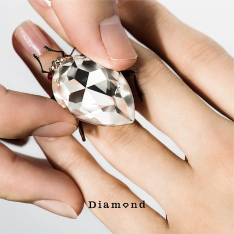ウソツキ「Diamond」ジャケット
