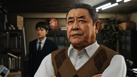 中尾彬演じる源田龍造。