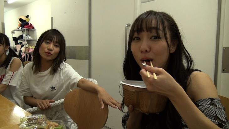 「1週間おでん生活ダイエット」に挑戦するSKE48の須田亜香里。(c)フジテレビ