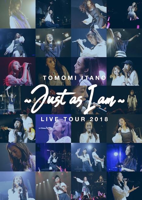 板野友美「板野友美 LIVE TOUR 2018 ~Just as I am~」ジャケット