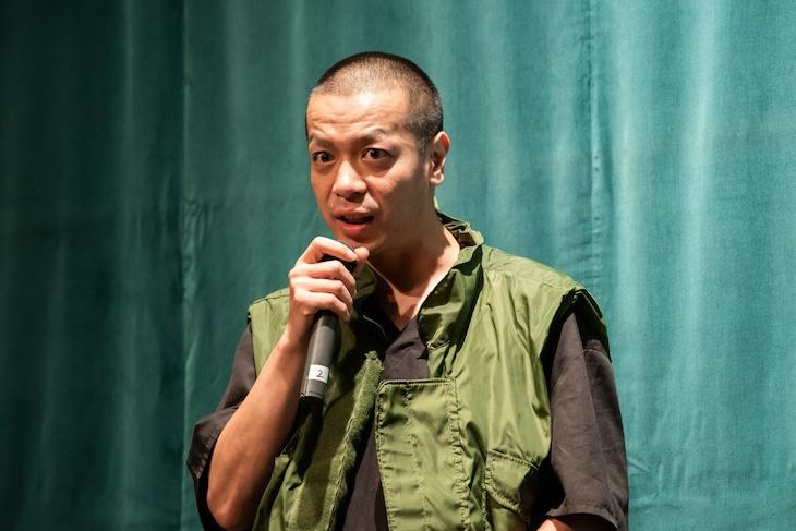 峯田和伸(銀杏BOYZ)(撮影:石井小太郎)
