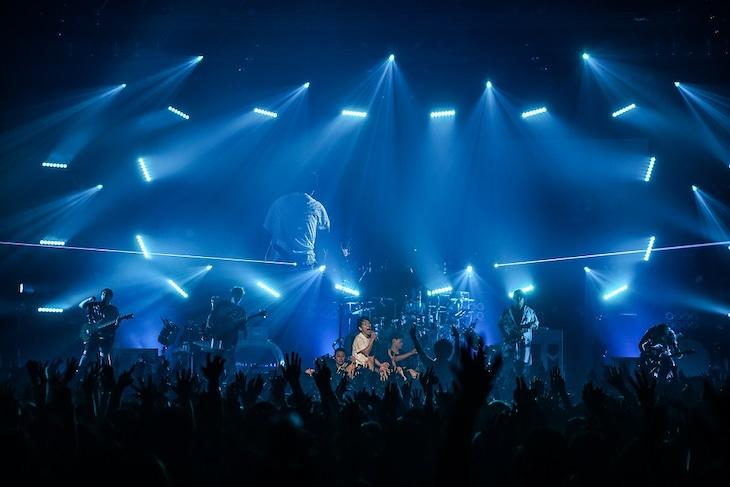 UVERworld「UVERworld LIVE TOUR 2018」東京・Zepp DiverCity TOKYOの様子。(写真提供:ソニー・ミュージックレコーズ)