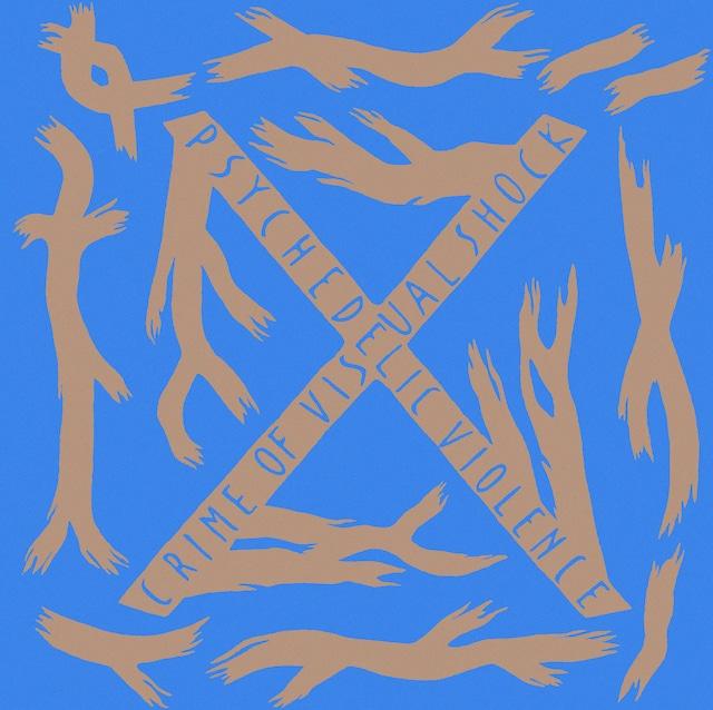 1989年のXのメジャーデビューアルバム「BLUE BLOOD」ジャケット。 (画像提供:Sony Music Direct[Japan]Inc.)