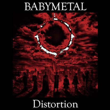 BABYMETAL「Distortion」アナログ盤ジャケット
