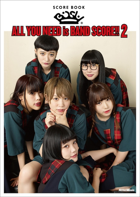 BiSH「ALL YOU NEED is BAND SCORE!! 2」表紙