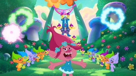 「トロールズ:シング・ダンス・ハグ!」場面写真 DreamWorks Trolls (c)2018 DreamWorks Animation LLC. All Rights Reserved.
