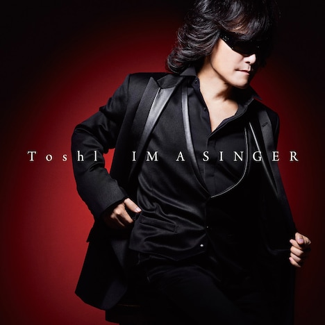 Toshl「IM A SINGER」ジャケット