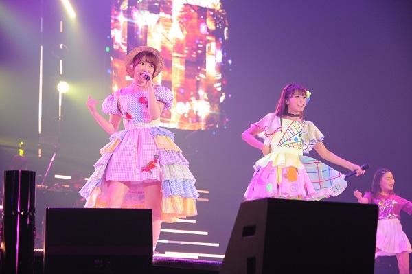 "「Animelo Summer Live 2018 ""OK!""」より三森すずこと内田彩。"