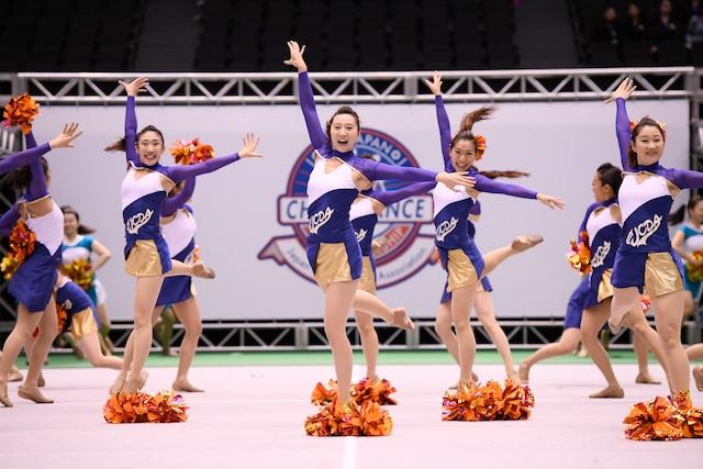 第17回全日本チアダンス選手権大会にて 「Team JCDA」
