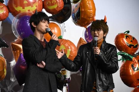 吉沢亮とNissy。