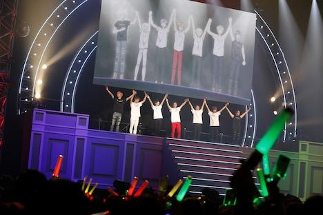 「ドリフェス! Presents FINAL STAGE at NIPPON BUDOKAN 『ALL FOR TOMORROW!!!!!!!』」の様子。