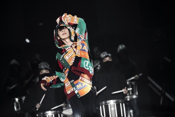 「米津玄師 2018 LIVE / Flamingo」10月27日公演の様子。(撮影:鳥居洋介)