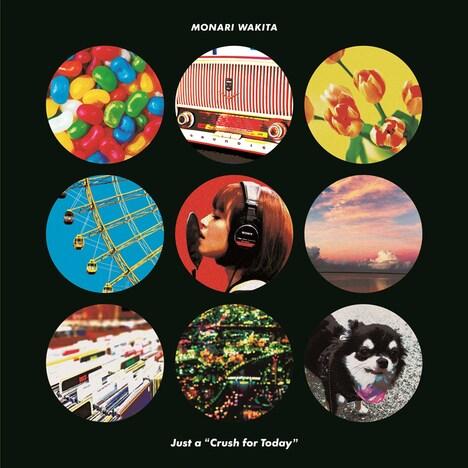 """脇田もなり「 Just a """"Crush for Today""""」CD盤ジャケット"""