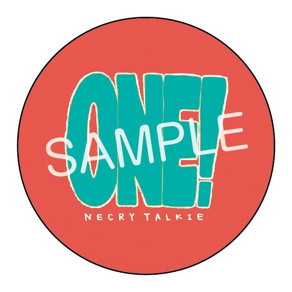 ネクライトーキー「ONE!」タワーレコード早期購入者特典デザイン