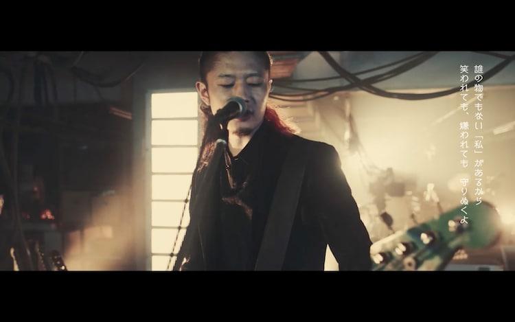 [ALEXANDROS]「アルペジオ」ミュージックビデオのワンシーン。