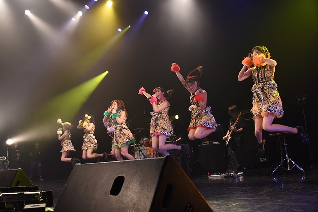 Chu-Z「Chu-Z My Live 2018~マイナビBLITZ赤坂に停車Chu▽~」の様子。