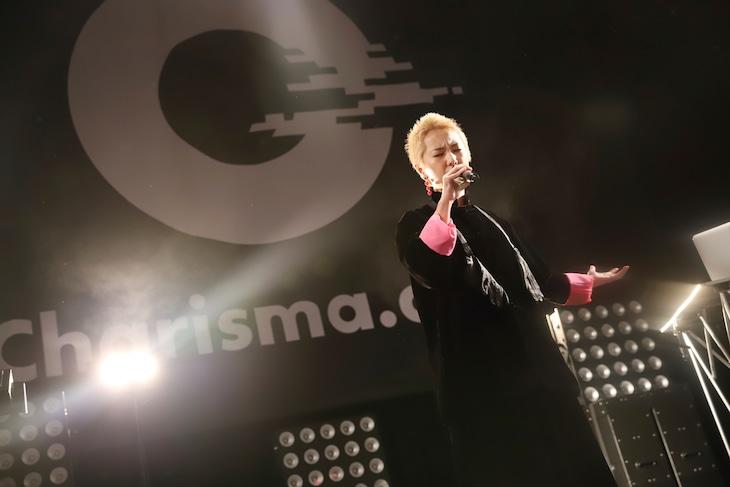 「Charisma.com ワンマンライブ」の様子。(撮影:後藤壮太郎)
