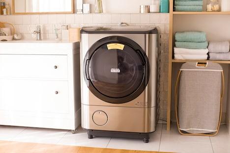 日立のドラム式洗濯乾燥機「ヒートリサイクル 風アイロン ビッグドラム」BD-NX120C