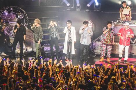 「ヒプノシスマイク -Division Rap Battle- 3rd LIVE@オダイバ《韻踏闘技大會》」の様子。(撮影:粂井健太)
