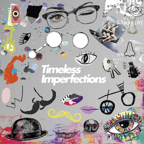THE CHARM PARK「Timeless Imperfections」の「Side-A」配信ジャケット。