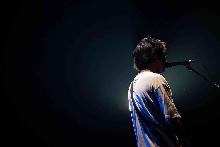 Mitsuhiro(Vo, B / EVERLONG)(撮影:木下了太)